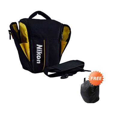 Nikon Kode S Tas Kamera + Free Rain Cover [Selempang Segitiga]