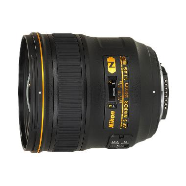 Nikon Nikkor AF-S 24mm f/1.4 G VR Lensa Kamera