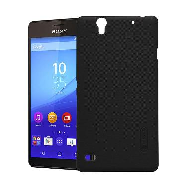 Nillkin Frosted Hardcase Casing for Sony Xperia C4 - Hitam