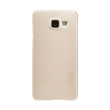 Nillkin Frosted Hardcase Casing for Samsung Galaxy A3 (2016) or A310 - Gold