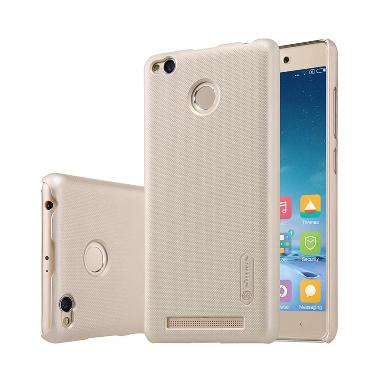 Nillkin Frosted Hardcase Casing for Xiaomi Redmi 3 Pro - Gold