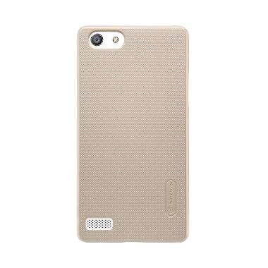 Nillkin Frosted Shield Casing for Oppo Neo 7 A33 - Gold