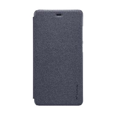 Nillkin Sparkle Flip Cover Casing for Xiaomi Mi4s or Mi 4s - Black