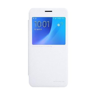 Nillkin Sparkle Leather Casing for Samsung Galaxy J5 2016 J5108 - Putih