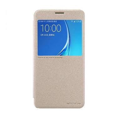 Nillkin Sparkle Leather Casing For Samsung Galaxy J7 2016 J7108
