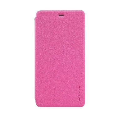 Nillkin Sparkle Leather Casing for Xiaomi Mi4s or M4s - Pink