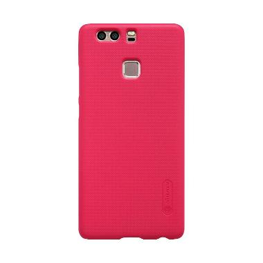 NILLKIN Super Frosted Shield Casing for Huawei Ascend P9 – Merah Terang