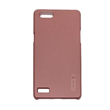 Nillkin Super Frosted Shield Hardcase Casing for OPPO Neo 7 - Pink