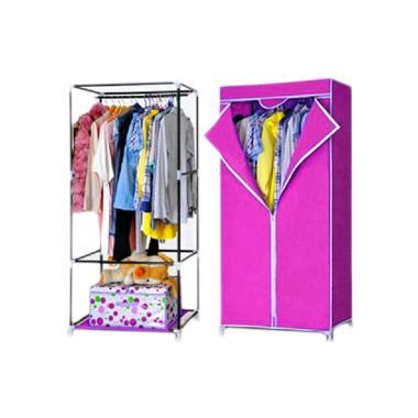 Nine Box Lemari Baju SW - Merah Muda