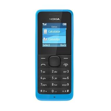 Nokia 105 Handphone - Biru