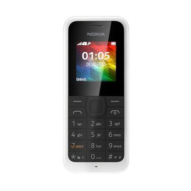 Nokia 105 Handphone - Putih