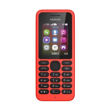Nokia 130 Handphone - Red [Dual Sim]