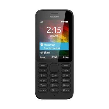 Jual Nokia 215 Handphone - Black [Dual SIM] Harga Rp 450000. Beli Sekarang dan Dapatkan Diskonnya.