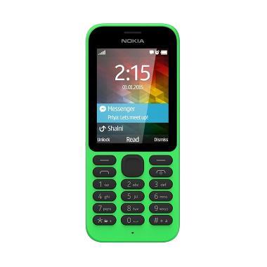 Jual Nokia 215 Handphone - Hijau [8 MB/Dual SIM] Harga Rp 500000. Beli Sekarang dan Dapatkan Diskonnya.
