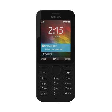 Nokia 215 Hitam Handphone