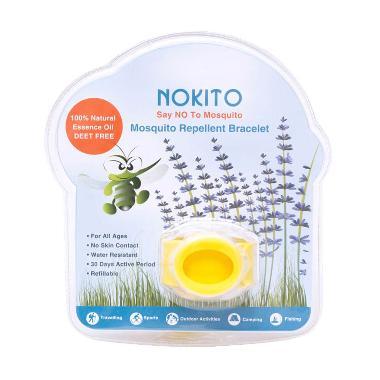 Nokito Mosquito Repellent Bracellet Gelang Anti Nyamuk - Kuning