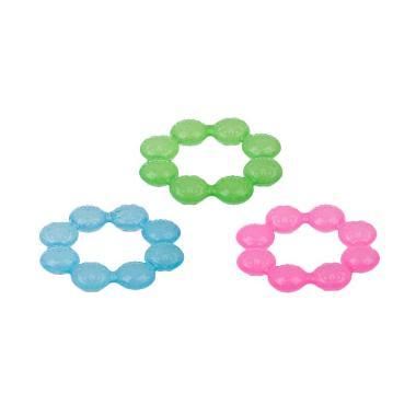 Nuby Icybite Ring Teether Assorted Color 101000 Ring