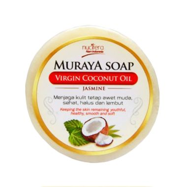 Sabun Muraya VCO Virgin Coconut Oil Natural  Jasmine [35 g] 4in1