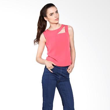 nulu_nulu-devny-blouse-nl-559---coral_full01 Inilah Harga Online Gamis Terbaru Teranyar bulan ini