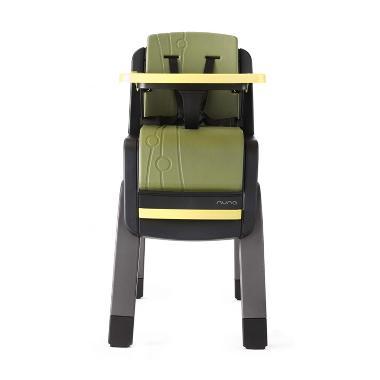 Nuna Zaaz Baby High Chair - Black Yellow