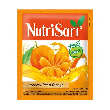 harga NutriSari American Sweet Orange 10pcs x 14gr Blibli.com