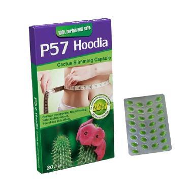 Obat Herbal p57 Hoodia Suplemen Pembakar Lemak Seketika ( 2 Paket )