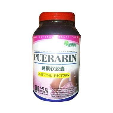 Puerarin Obat Pembesar Payudara [100 Pil]