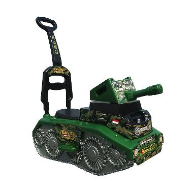 Ocean Toy Ride On Mobil Tank TNI Mainan Anak - TNK