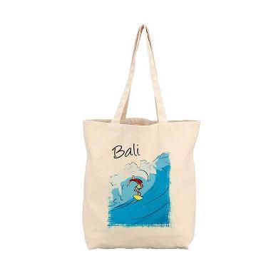 Oceanseven Famous Tourism Abu Bali 1 Organic Cotton Tote Bag