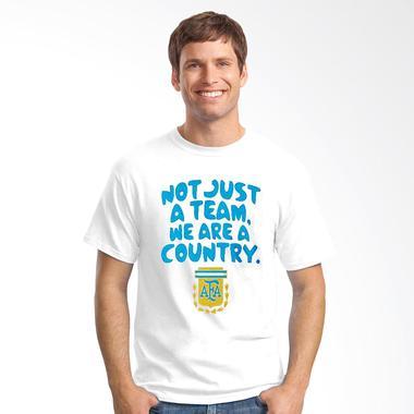 Oceanseven Football Series Argentina Slogans T-shirt