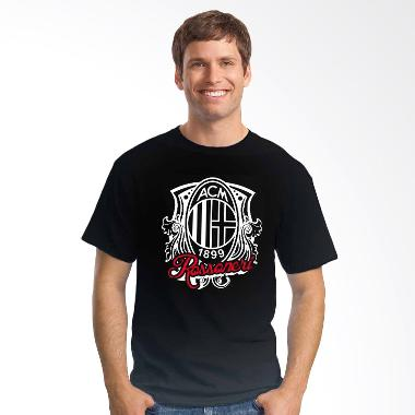Oceanseven Football Ultimate AC Milan Logo 06 T-shirt - Black