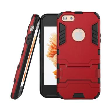 OEM Iron Man Robot Armor Red Hardcase Casing for iPhone 5 or 5s or SE