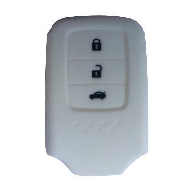 OEM Silikon Prestige Putih Sarung Kunci Honda CR-V