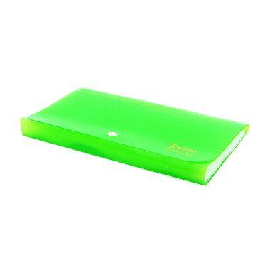 Organizer Filing A4 Legal Transparan Hijau Jual Ohome MS TZ618FC Tozhca Folder File .