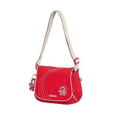 Okiedog Diaper Bag Genie Urban Red Tas Bayi Tas Kecil