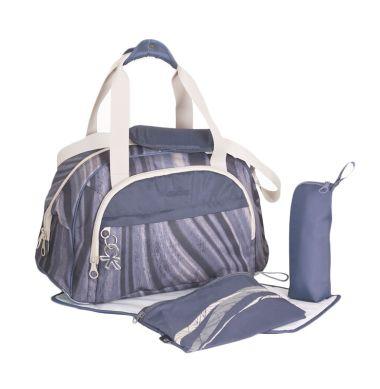 Okiedog Diaper Bag Shuttle Agate Black Tas Bayi