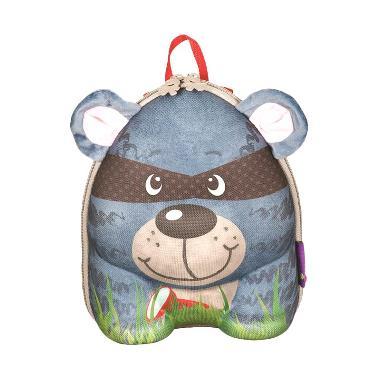 Okiedog Wildpack Backpack Raccoon Tas Sekolah