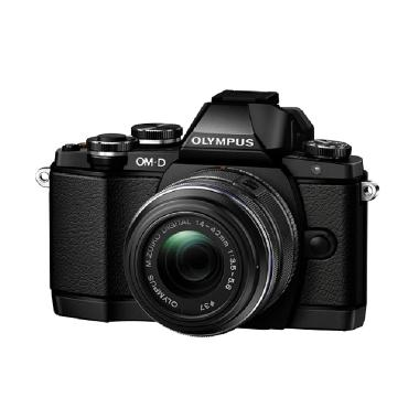 Olympus OM-D E-M10 Digital Kit 14-42mm 2RK Kamera Mirrorless - Hitam [16 MP]