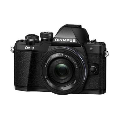 harga Olympus OM-D E-M10 II Kit 14-42mm Mirrorless - Hitam  FREE MEMORY 16GB + SCREEN GUARD Blibli.com