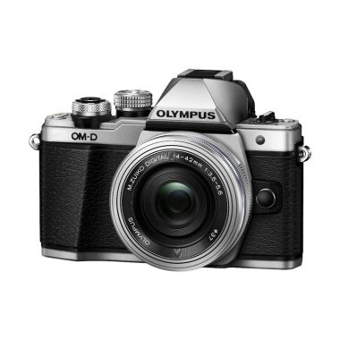 Olympus OM-D E-M10 II Kit 14-42mm Silver Kamera Mirrorless
