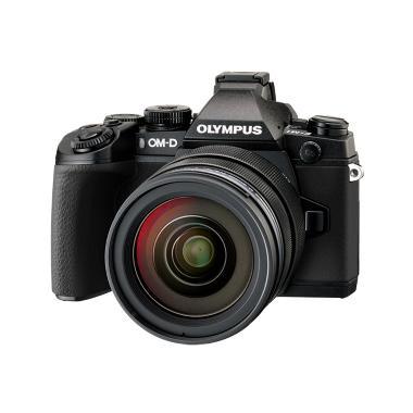 Olympus OMD EM1 Kit 1240 Kamera Mirrorless - Black