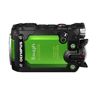 Olympus Stylus Tough TG-Tracker 4K Action Camera - Green