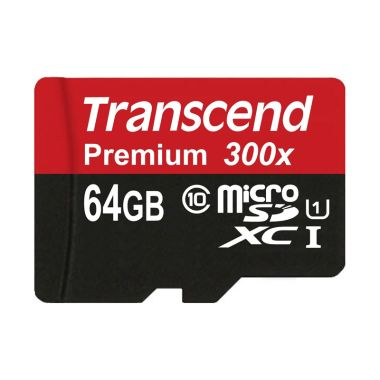 Transcend 64GB Hitam MicroSD