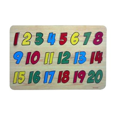 Mainan Uno Stacko Balok Susun / Mainan Edukatif / Family Game. Source · Omocha Puzzle Sticker Angka 1-20 Mainan Edukasi - Multicolor