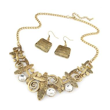 Omomart RKL7099 Metal Fashion Set Kalung