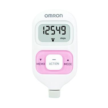 harga Omron HJ-203 Pedometer Alat Monitor Kesehatan - Pink White Pink Blibli.com