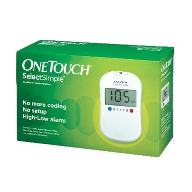 harga One Touch Select Simple Alat Monitor Kesehatan Blibli.com