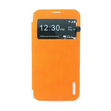 Remax Youth Leather Orange Flip Cov ...