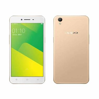 OPPO A37 Smartphone - Gold [16GB/ 2GB/ 4G]