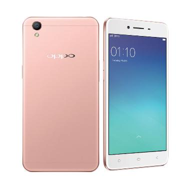 Oppo A37 Smartphone - Rose Gold [16 ... Free MMC 32GB  + Tampered